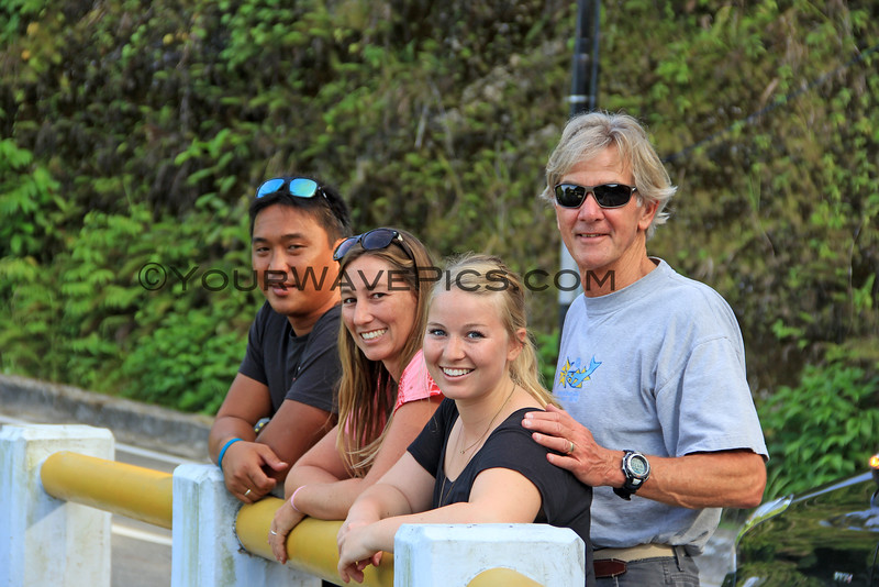 1149_05-20-15_Justin_Lyndall_Marian_Tony.JPG<br /> Lyndall & Justin made the long drive to the airport in Gunung Sitoli to greet us