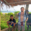 2468_05-29-15_Mo'ale Beach_Ritus_Mike_Justin.JPG<br /> Mike cooks up his catch