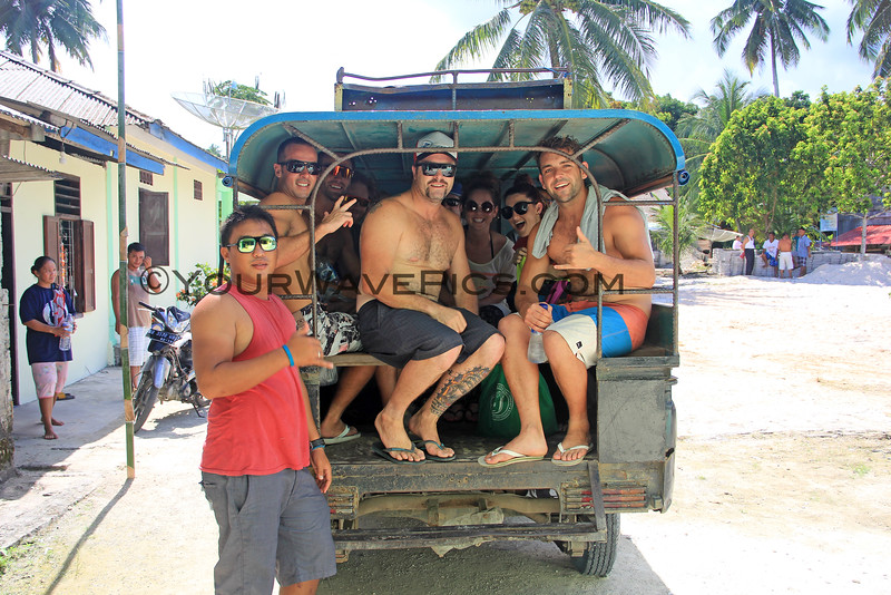 1319_05-24-15_Justin_Filipe_Richie_Colie_Krystal_Cookie.JPG<br /> Heading off to the King's Village and waterfalls in the safari-style 'school bus'