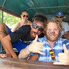 2416_05-29-15_Ritus_Mike Clark.JPG<br /> Ritus and Mike Clark ready for a long ride in the safari bus