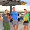 1274_05-23-15_Lauren_Tony_Lyndall.JPG<br /> Another old friend, Lauren Taniyama Parrish and her husband Willy arrive for the wedding - their first stop on a year-long surf safari around the world