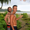 2424_05-29-15_Mo'ale Beach_Mike_Filipe.JPG<br /> Mike Clark and Filipe heading out to catch some fish at Mo'ale Beach