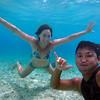 2018-03-11_Pulau Asu_1134C_Lyndall_Justin underwater.JPG