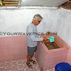 2018-03-10_Pulau Asu_1093_Ina Silvi's Cottages_Bathroom.JPG<br /> <br /> Paradise does not include a shower!  They provide rainwater in a tub with a bucket, which we used to wash ourselves.  It is actually very effective!