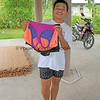 2018-03-14_Nias_1261_Warna with surf clothes.JPG<br /> <br /> Warna showing off some of the Ripcurl clothes and board shorts I brought for her