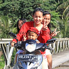2018-03-11A_Nias_1188_Road from Sirombu to Sorake_4 on a bike.JPG<br /> <br /> I loved that the little boy even tried to give me a peace sign!