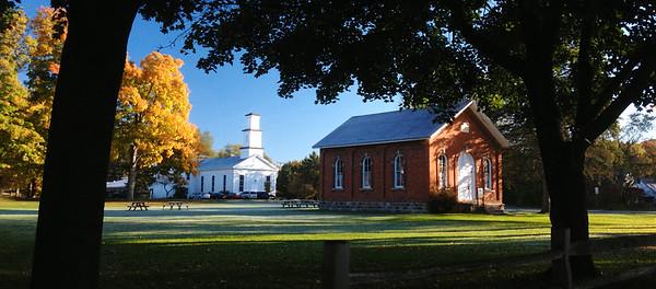 Fall colors in Dixboro, Michigan.