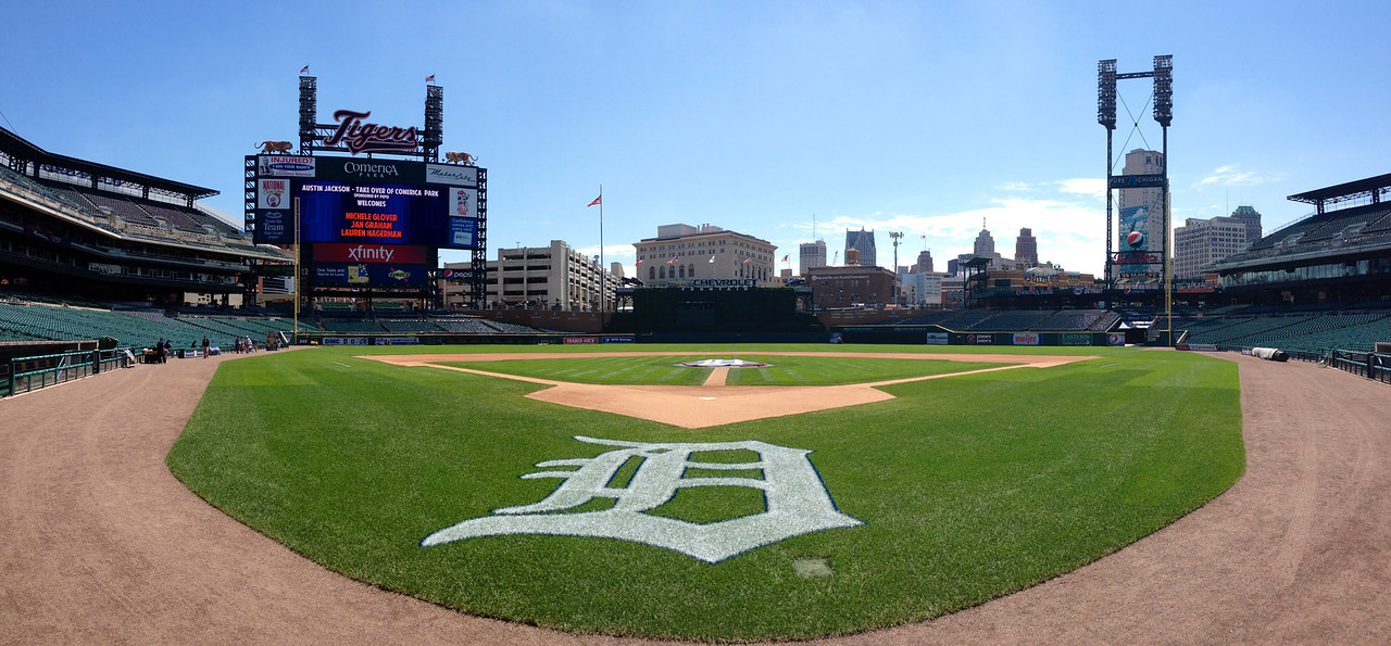 Tiger stadium (otherwise known as Comerica Park).