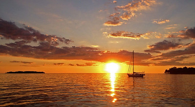 Lake Erie Sunset.