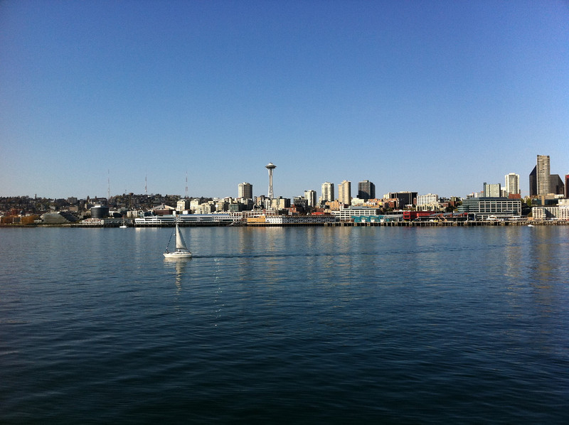 View from Bainbridge Island Ferry