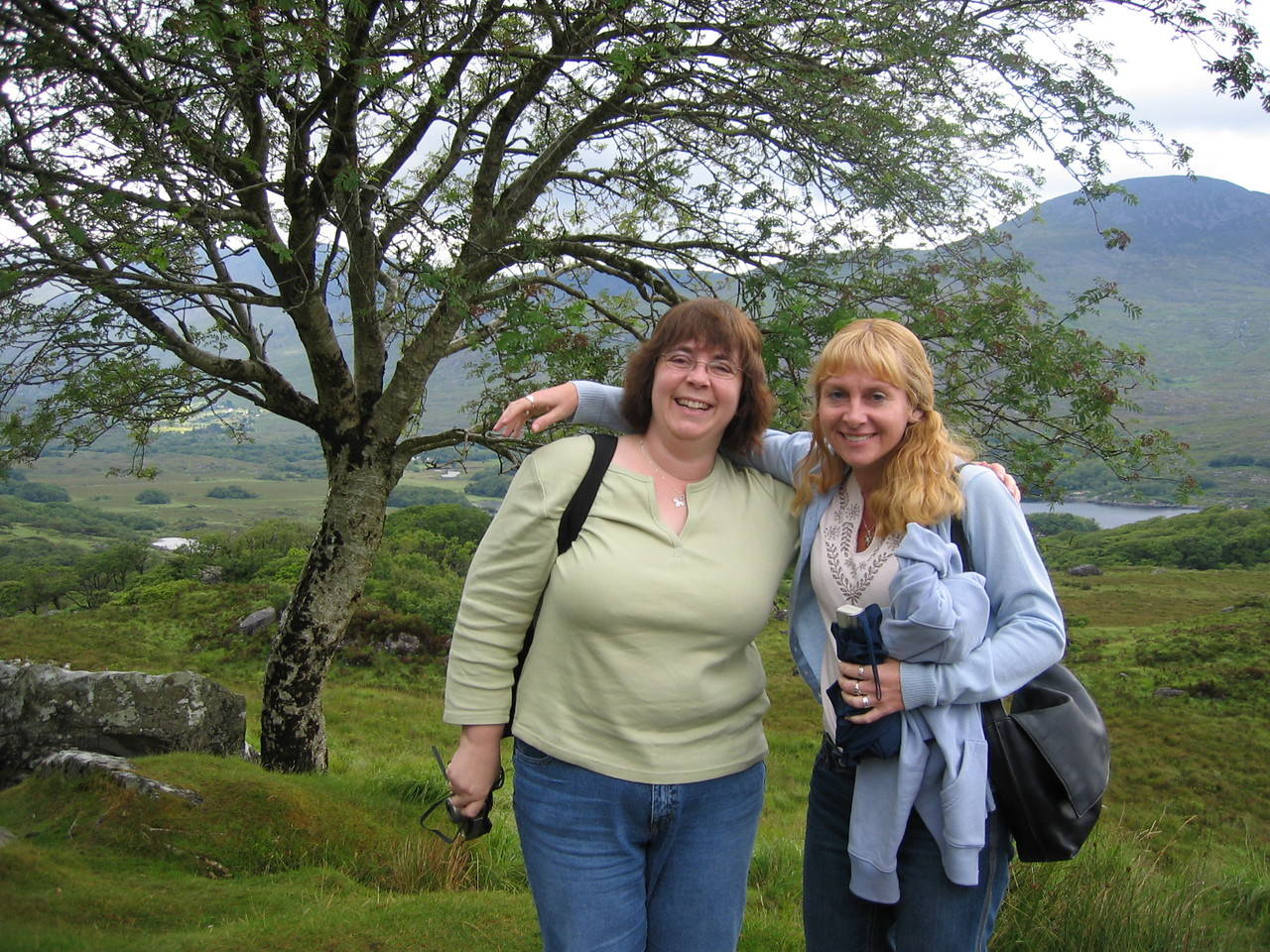 Edie and Sherri that were on the bus tour with us