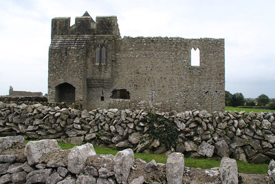 It was reportedly founded by Saint Colman, son of Duagh in the 7th century, on land given him by his cousin King Guaire Aidne mac Colmáin of Connacht.