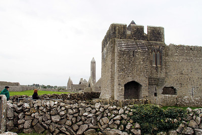 """The name of the place translates as """"church of Duagh's son"""". It was reportedly the 7th century Saint Colman, son of Duagh who established a monastery here"""