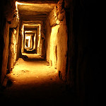 one of the passageways at Knowth (photo from the internet - we were not inside)
