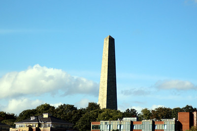 Wellington Monument (Testimonial) in Phoenix Park. The Wellington Testimonial was built to commemorate the victories of Arthur Wellesley, 1st Duke of Wellington. Wellington, the British politician and general, also known as the 'Iron Duke', was born in either counties Meath or Dublin.