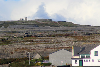 ruins of a stone fort on Inishmaan