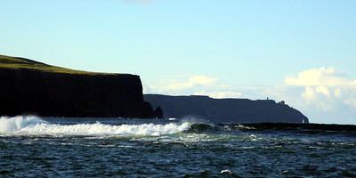 the Cliffs of Moher from the Hooker