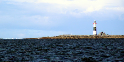 the lighthouse on Inisheer - first built in 1857 and automated in 1913.