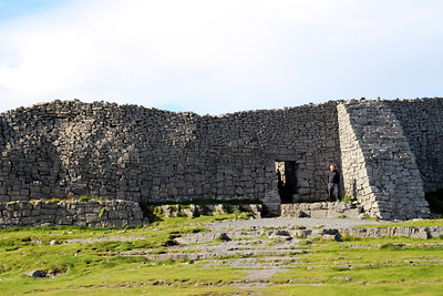 Dun Aonghasa - its superb position and its structural perfection, have prompted may experts to pronounce it one of the finest prehistoric monuments in Europe