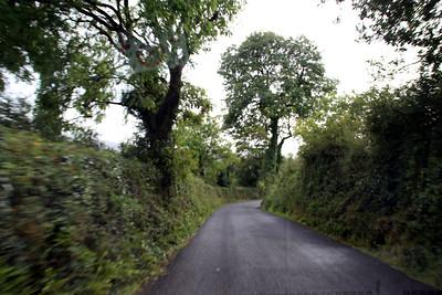 typical Irish roadway