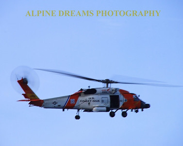 COAST GUARD FLY BY