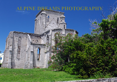 Calling this  RUINS and BEAUTY!   I cannot believe the detail and artistic detail that this uncompleted Church shows.  Don't miss this on the way to Tobacco Bay!