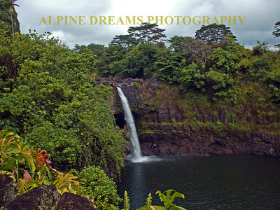 These waterfalls in Kaui were breathtaking. Even with the storm coming the colors were vibrant.