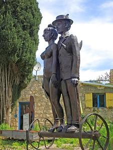 Ein Hod, The Lovers on Wheels, 2006, Benjamin Levy