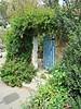 Gate to a courtyard in Ein Hod