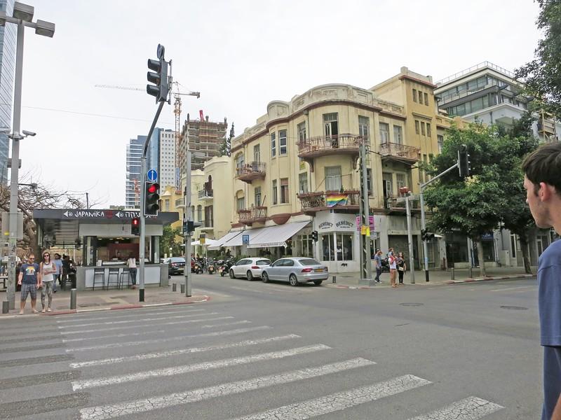 Crossing Allenby Street