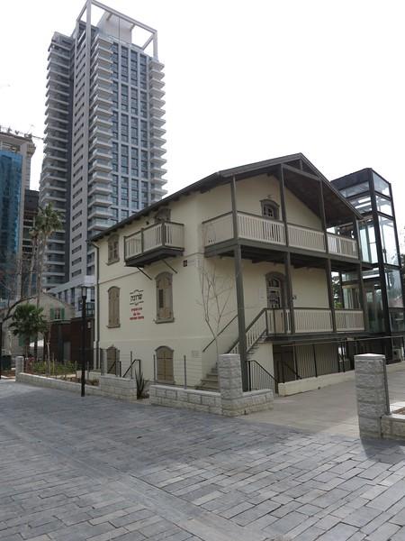 Sarona visitors' center