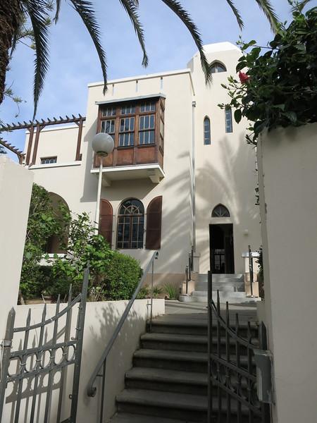 Bialik House, now a museum, 22 Bialik near TA's second town hall