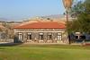 4-Foreground: Old Gesher Hadar Ochel (dining hall). background: watch tower in Jordan beyond.