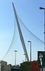 51-Chords Bridge, Calatrava. Light rail vehicles running from outlying neighborhoods to the city center will use this bridge.