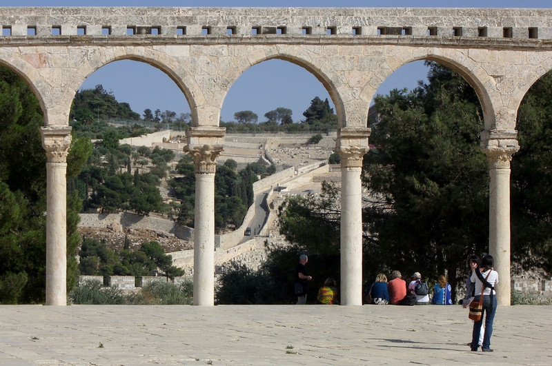41-Mount of Olives from Temple Mount