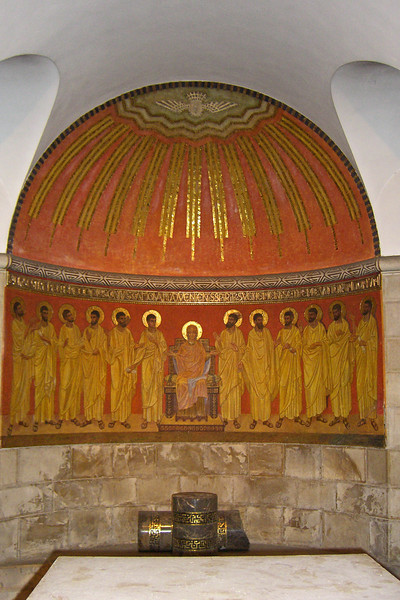4-Church of the Dormition, Jesus and the 12 Apostles