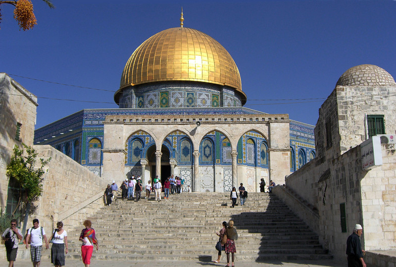 44-Dome of the Rock, west entry