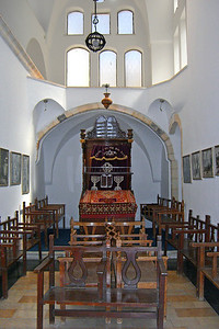 14-The middle synagogue, originally a courtyard of the Yohanan Ben Zakai synagogue which could be converted into a sukkah.