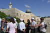 30-A 45-minute security queue to Temple Mount