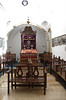 """15-With community growth in the 18th century, the courtyard was roofed and turned into the Middle Synagogue (it's in the """"middle"""" of the other 3 synagogues)."""
