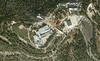 2-Satellite image, Yad Vashem, courtesy Google (same scale as map).