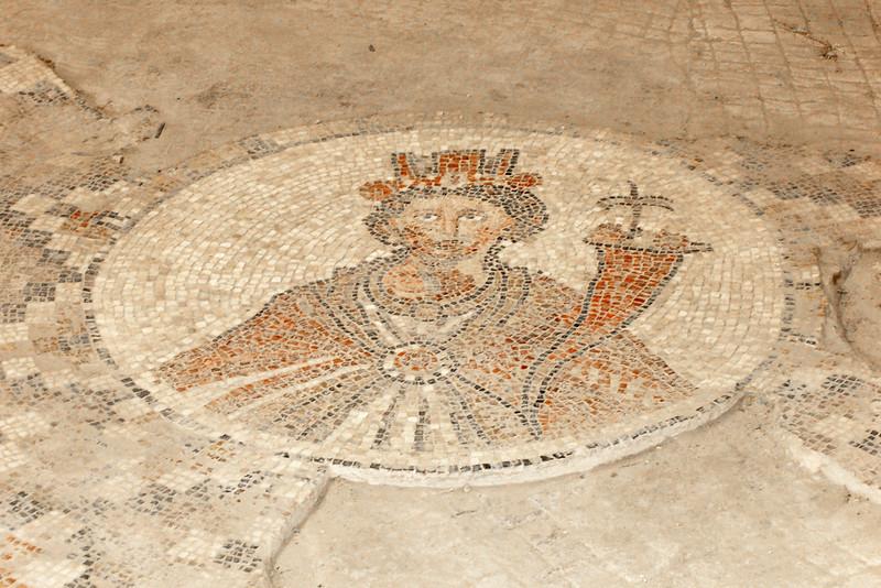 Byzantine mosaic floor.