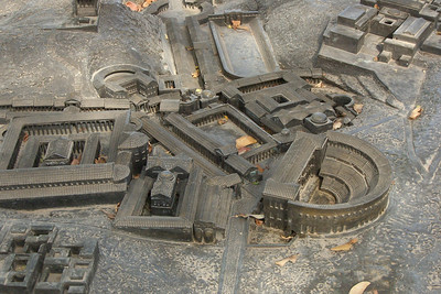 Model of Roman Bet She'an