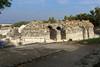 Roman theater exterior, exits.