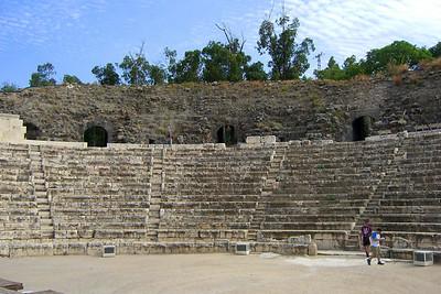 Bet She'an, 7,000-seat Roman theater.