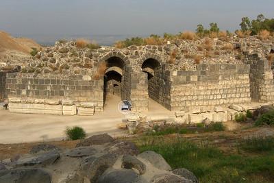 Exterior of Roman theater.