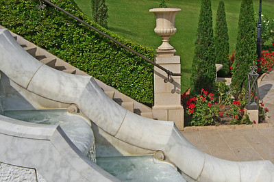 31-Baha'i Gardens detail
