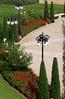 30-Baha'i Gardens, lower terrace detail