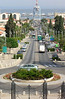 10-Sderot Ben Gurion and harbor from Ha-Gefen (Vine) Street.