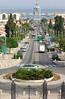 10-Sderot Ben Gurion and harbor from Ha-Gefen (Vine) Street.